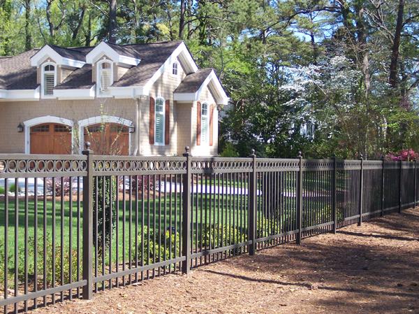 Ornamental Steel Fences From Hercules Of Richmond