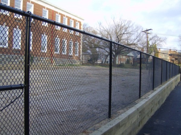 Richmond Residential Vinyl Coated Chain Link Fence