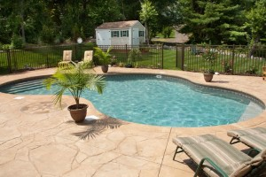 A pool fence will look great and keep your family safe at the same time.