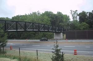 bridge fence