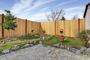 install a privacy fence for a backyard oasis